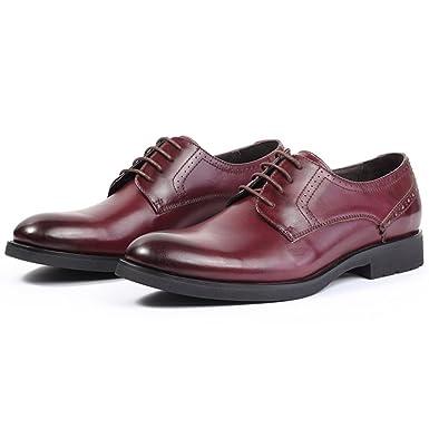 Herrenschuhe Mode Runde Schnürschuhe Business Leder Schuhe Rindsleder Licht  Brogue Oxford Schuhe Für Männliche Party Arbeit  Amazon.de  Bekleidung 86368f6d66