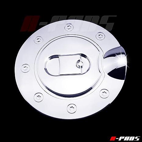 a-pads cromado Gas Puerta Cubierta para Ford F150 2004 – 2008 – cromado cubierta de depósito de tapa de combustible: Amazon.es: Coche y moto