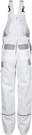 TMG® Petos de Trabajo para Hombre | Blanco | XS-7XL | Pantalones de Trabajo Resistentes con Peto | Multibolsillos y Reflectores | Pintores, Decoradores y Tapiceros 60