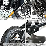 Overfly Electric Folding Bike 48V Bafang 500W Motor 7 Speed 10.4Ah Battery Electric Commuter Bicycle Ebike with 20''4.0 Fat Tire
