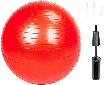 BT - Pelota de Yoga para Gimnasio/hogar con Bomba a Prueba de ...