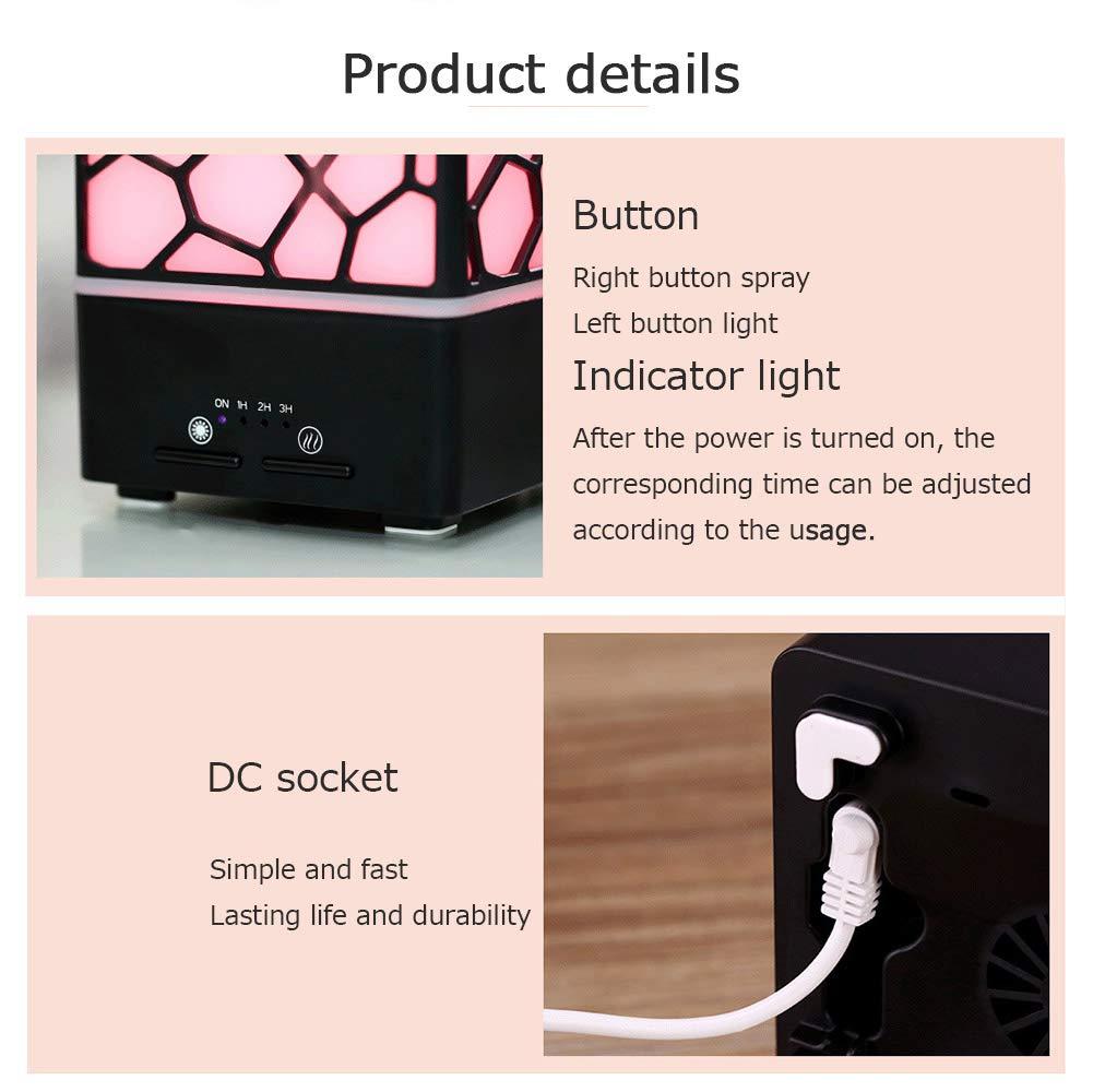 Incense Burner Living Household Appliances Creative Hotel Bedroom Office Ultrasonic Silent Fragrance Lamp Mini Aromatherapy Machine Humidifier Nanayaya by Incense Burner (Image #7)