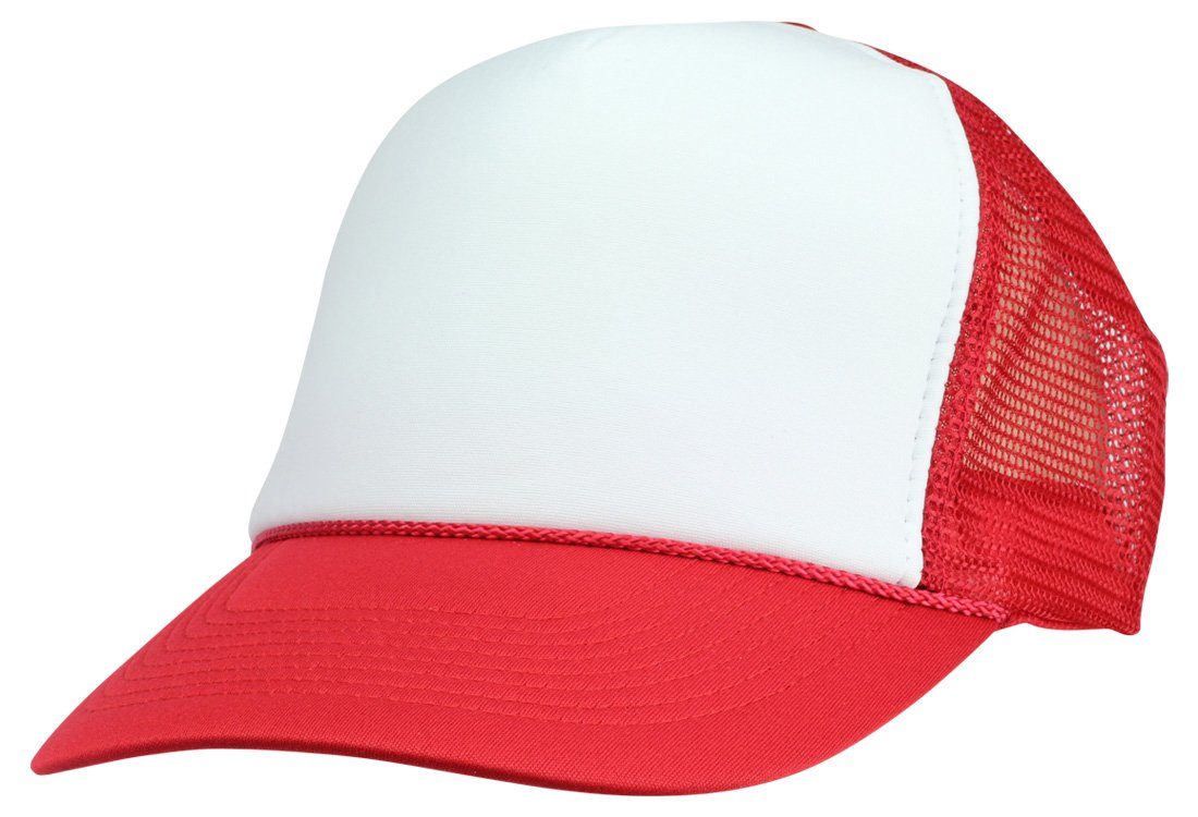 f7d2b006bb2 DALIX Two Tone Trucker Hat Summer Mesh Cap with Adjustable Snapback Strap  product image