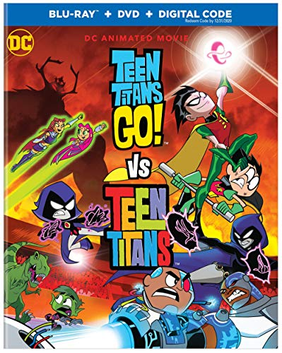 Teen Titans Go! Vs. Teen Titans (Blu-ray/DVD)