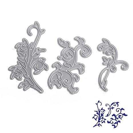 liyudl troqueles de corte de metal plantilla para molde para tarjeta de papel DIY álbum de
