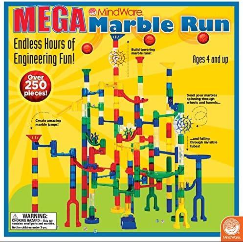 Set of 2 MindWare Mega Marble Run Motorized Marble Elevator