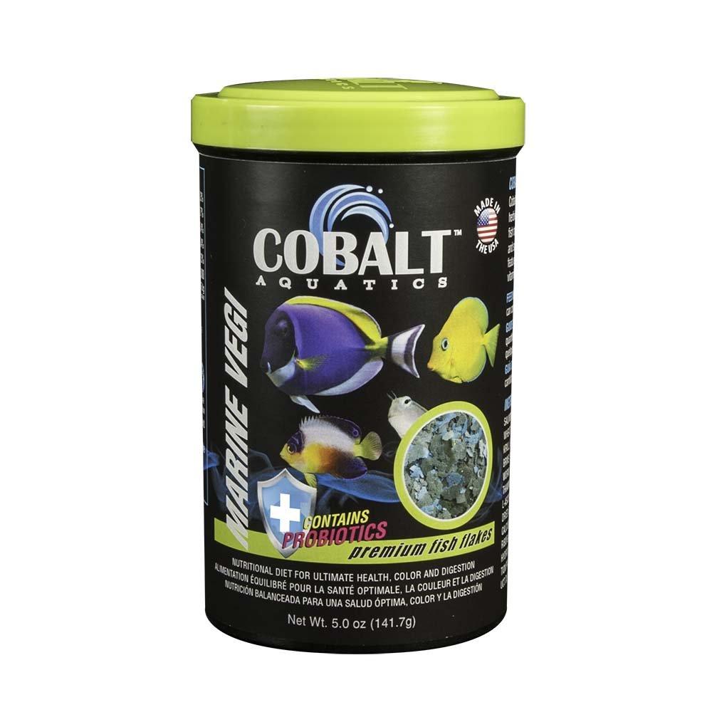 Cobalt Aquatics Marine Vegi Flake, 5 oz