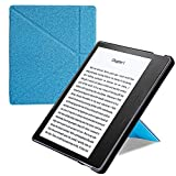 Oasis case kindle standing case Oasis Origami Cover for Kindle Oasis Cover (9th Gen, 2017 Release ONLY) - Slim Fit Stand oasis Protective Case Support [Hands Free oasis] Reading with Auto Wake / Sleep feature oasis Shell - Strong support Oasis standing ca