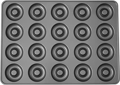 Wilton Non-Stick Donut Hole Baking Pan, 20-Cavity