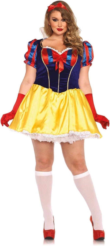Leg Avenue Women's Plus-Size Poison Apple Princess