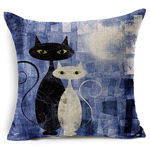 Painting Cotton Pillow Cushion Decorative