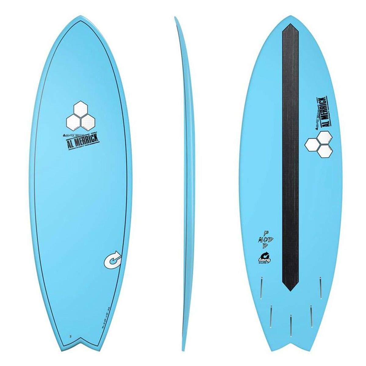 Tabla de surf Channel Islands X-Lite Pod MOD 6.6 Azul AL MERRICK Fish Eps EPOXY: Amazon.es: Deportes y aire libre