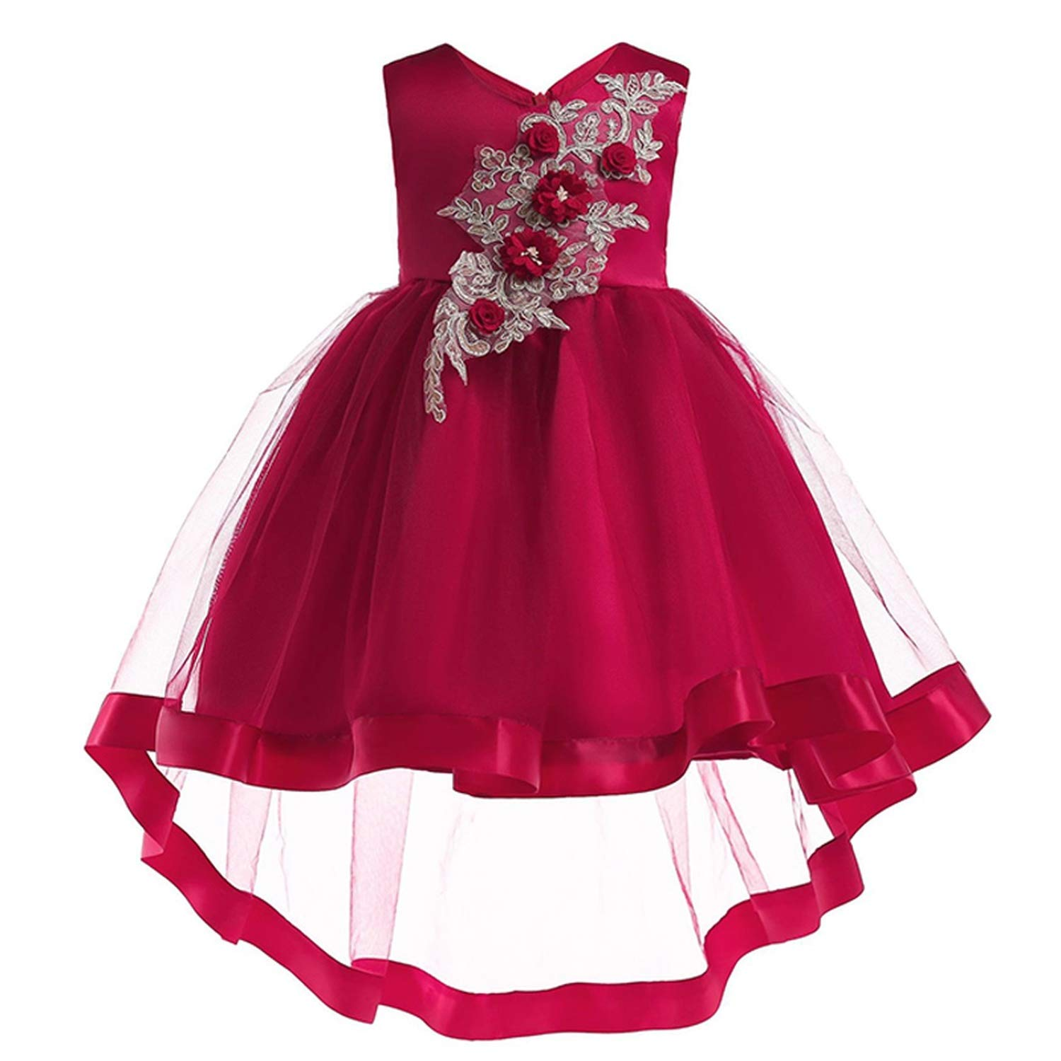 Girls Dress Summer Kids Dresses for Girl Princess Children Baby Tutu 2 3 4 5 6 7 8 9 10 Years,As Picture10,9 by Gooding Day (Image #4)
