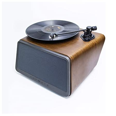 LMCLJJ Bluetooth Audio Tocadiscos Altavoz Reproductor portátil de ...