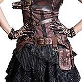 Steampunk Cosplay Mediterranean Rudder Satchel School Girls Messenger Bags Pack