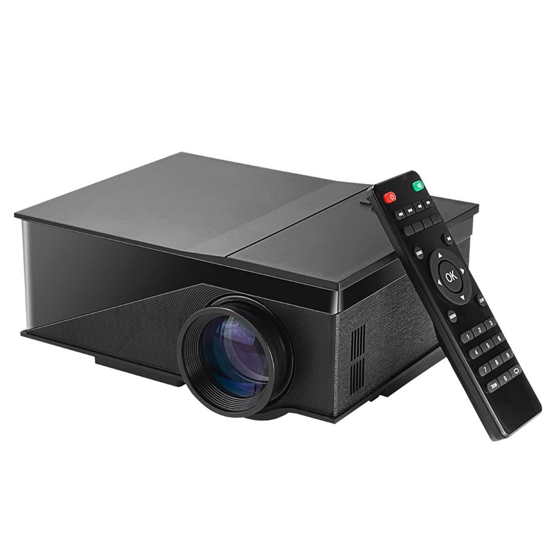 Tangyongjiao Proyectores de vídeo PH400 Mini proyector 1200 ...