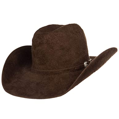 9249d5a1f1c66 American Hat Company Mens 20X Chocolate Grizzly Felt Hat 4 1 4 Brim ...