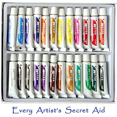 Daveliou Watercolor Paint Set Non Toxic