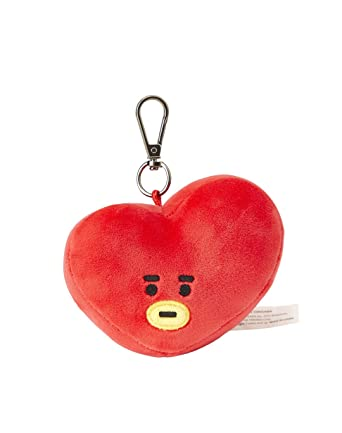 Line Friends x BTS Collaboration_BT21 TATA Plush Head Keychain