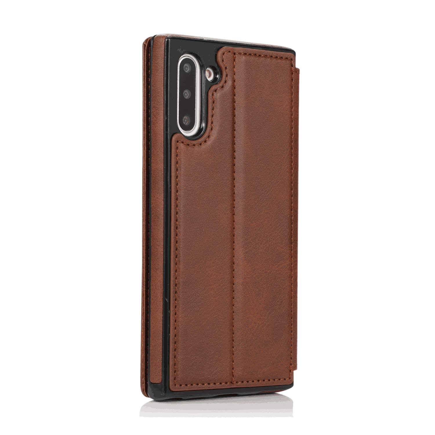 Business-Design Flip Cover for Samsung Galaxy S9 PU Leather Case Compatible with Samsung Galaxy S9 Cell Phone