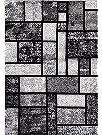 persianrugs 5 feet x 7 feet area rug modern carpet gray