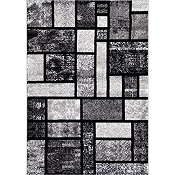 Amazon Com Persian Rugs T1007 Abstract Modern Area Rug