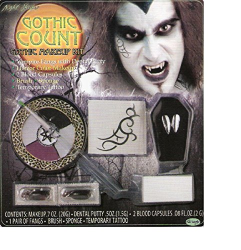 [Gothic Count Makeup Kit] (Count Gothic Costumes)