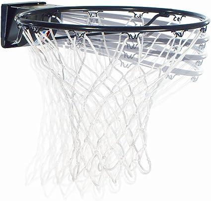 Heavy Duty Steel Rim Spalding Slam Jam Breakaway Mounted Basketball Hoop Net