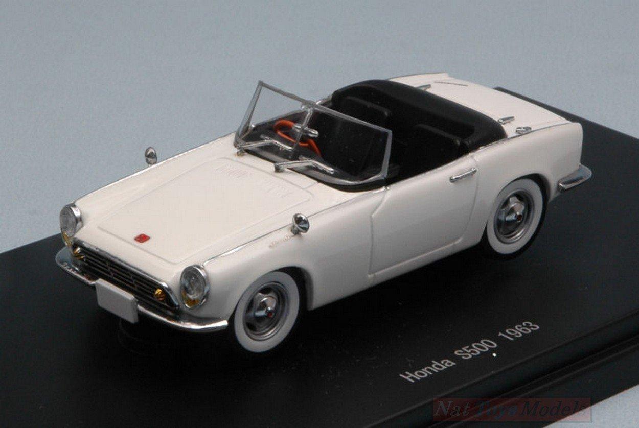 Ebbro EB45466 Honda S500 1963 bianca 1 43 MODELLINO Die Cast Model