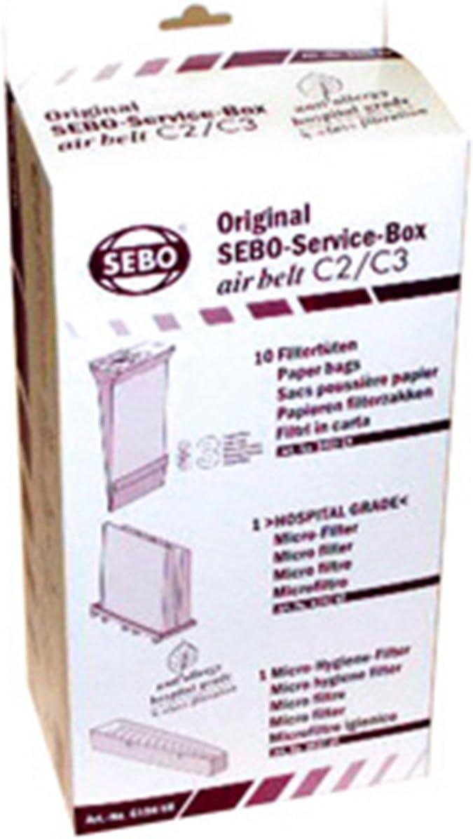 SEBO SERVICEBOX AIRBELT 6198ER C2/C3,