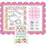 Tea Time Placemats with Activity Stickers (2-Pack)