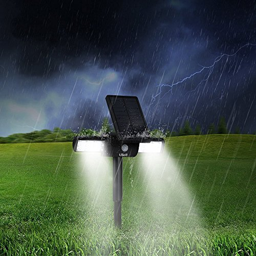 Outdoor Solar Lights 2 Pack Lbell 360 176 Usb With Rotating