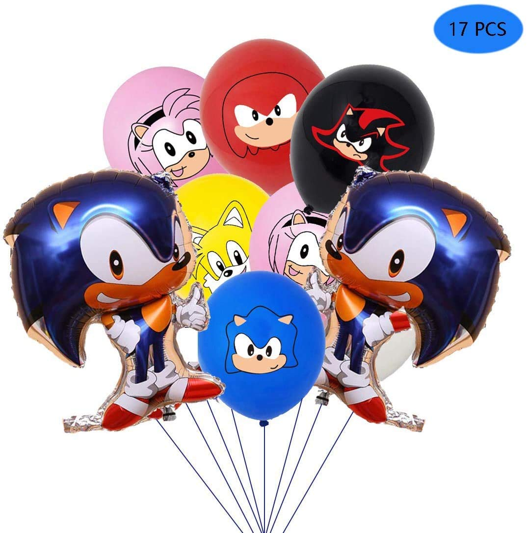 Sonic Hedgehog Latex Balloons Party Supp Buy Online In China At Desertcart