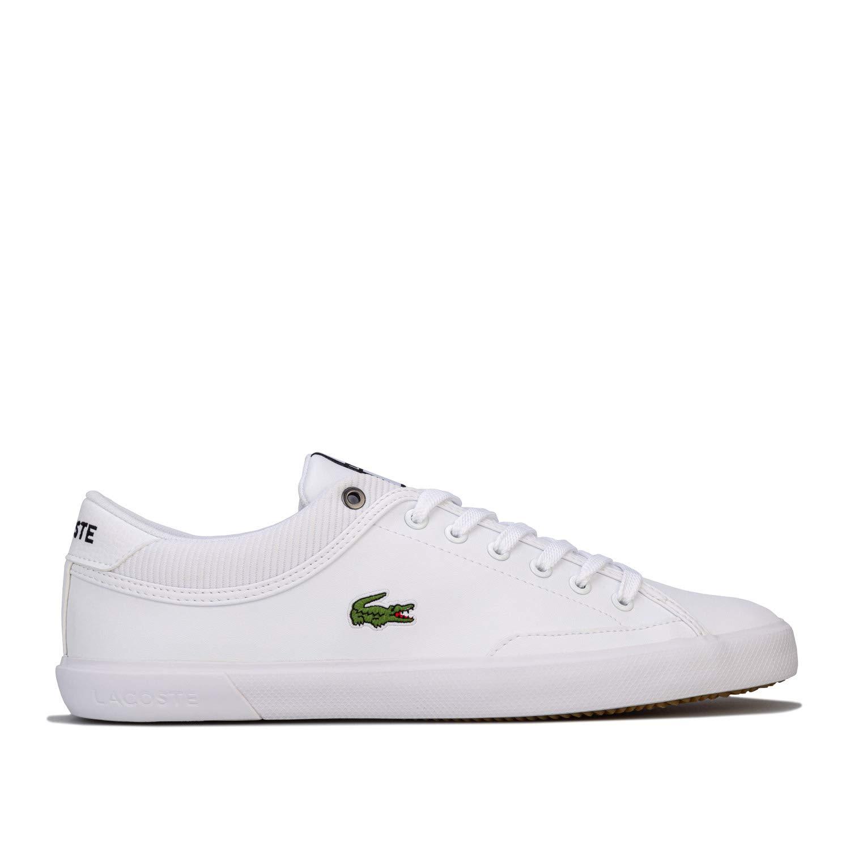 Lacoste Angha 418 Men's White Sneakers