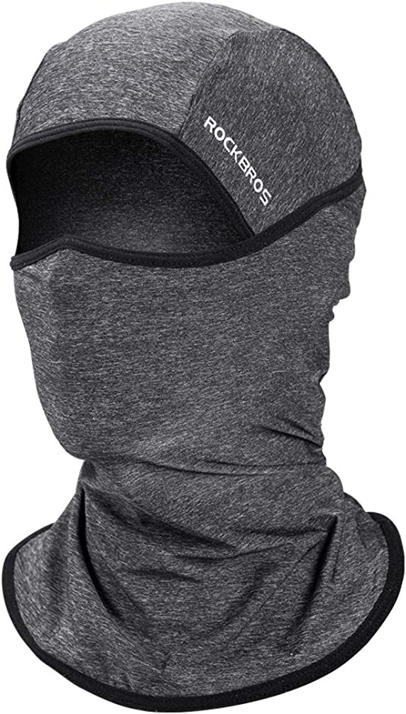 ROCK BROS UV Sun Protection Balaclava Dust Face Mask Cooling Neck Gaiter Scarf