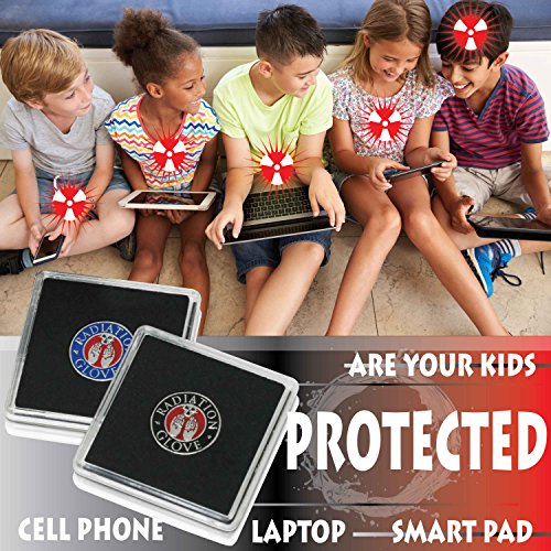 EMF Protection Cell Phone Radiation Protection Device – Radiation Protection for All Electronic Devices - Cell Phone, Laptop, Smartpad - EMF Defender Protection Products EMF Shield for Phone or Case