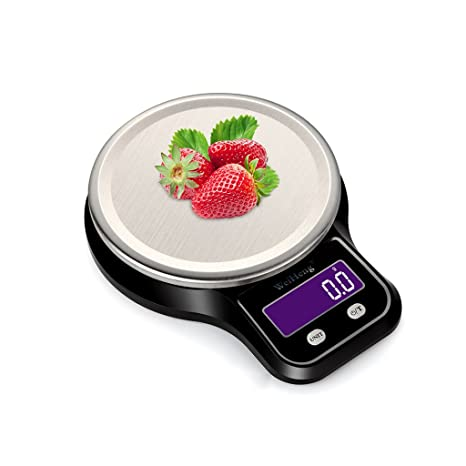 QIAOJIANE Kitchen Scale Báscula de Cocina para Hornear Mini Food Weigh Jewels Básculas de pesaje para
