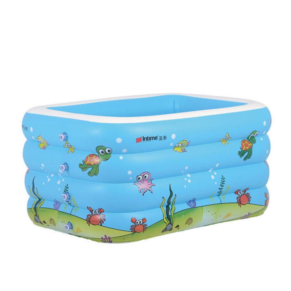 Baby-Pool des rechteckigen gedruckt/Super Babybecken/Freizeitbad-B