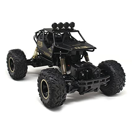 c53692a2a69 Amazon.com: Remote Control Car Off-Road Rock Car Mountain Bike 4WD ...