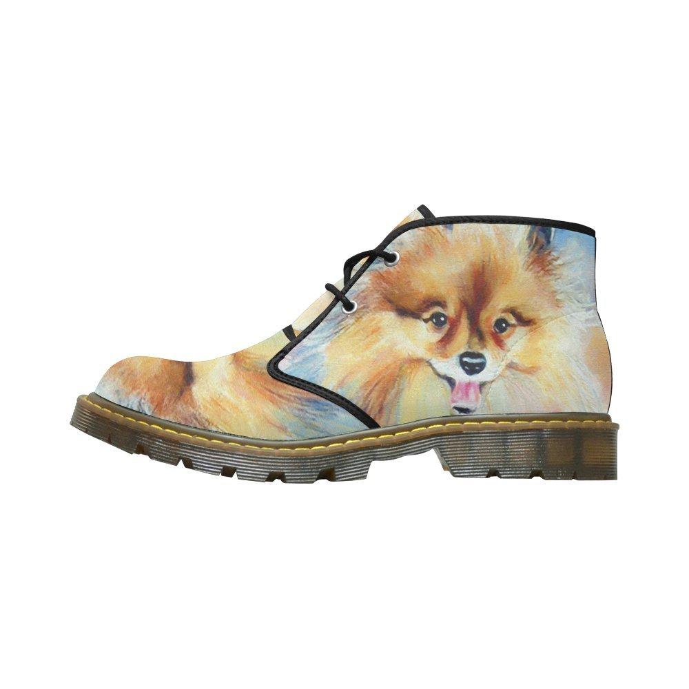 Artsadd Unique Debora Custom Women's Nubuck Chukka Boots Ankle Short Booties B0795NWN2Q 8.5 B(M) US|Multicolored4