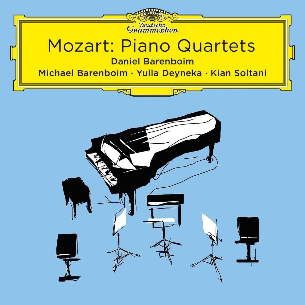 CD : DANIEL BARENBOIM/MICHAEL BARENBOIM/YIULIA DEYNEKA/KIAN SO - Piano Quartets