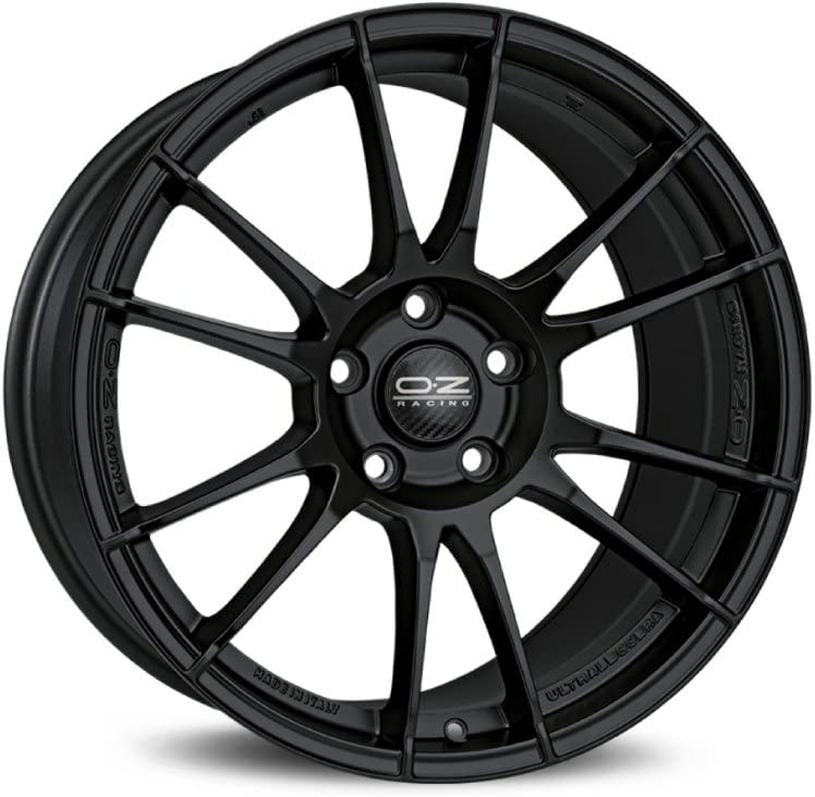 Oz Ultraleggera Nero Opaco 8 X 18 Et38 5 X 98 Hub Bore 58 1 Cerchi In Lega Amazon It Auto E Moto