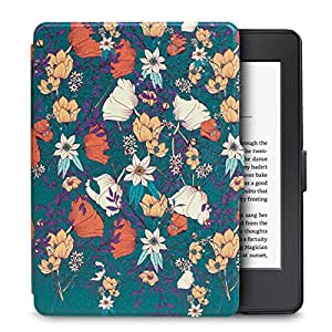 WALNEW Protective Case for Kindle Paperwhite - The Thinnest and Lightest Slim Smart Cover with Auto Wake/Sleep for All Kindle Paperwhite Version Up to 2017 ( Will Not Fit All-new Paperwhite 10th Generation 2018)
