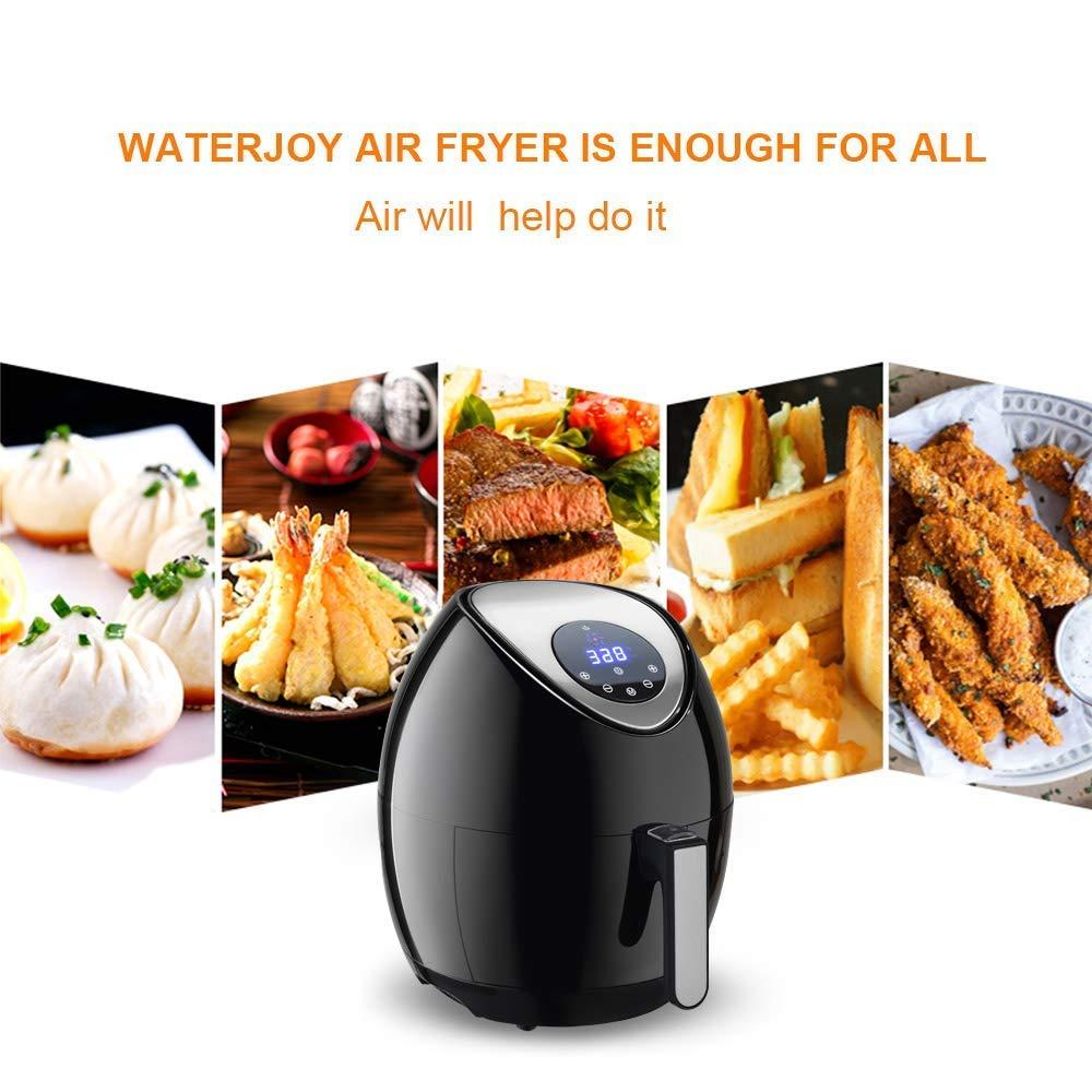 Amazon.com: Freidora de aire Safeplus de 1400 W, freidora de ...