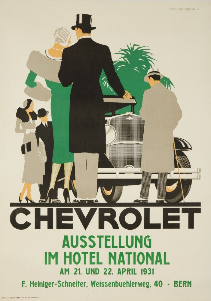 【最安値挑戦!】 Chevroletヴィンテージポスター(アーティスト: Art Stevens )ベルギーC LANT-61496-9x12 Print。1931 9 x 12 Art Print LANT-61496-9x12 B017X6D4W4 9 x 12 Art Print, 守谷市:99a67293 --- irlandskayaliteratura.org