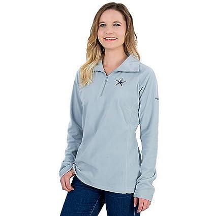 buy online 7ffdb 1efe2 Amazon.com : Dallas Cowboys Columbia Glacial Fleece Pullover ...