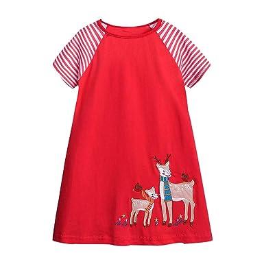 Ofertas de Pascua. Vestido de Manga Corta para niñas y bebés, con ...