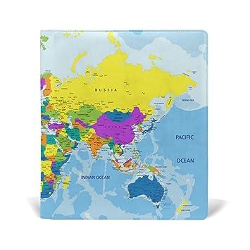 Amazon baihuishop highly detailed world map book covers fits baihuishop highly detailed world map book covers fits upto 9 x 11 inch durable reusable size gumiabroncs Choice Image