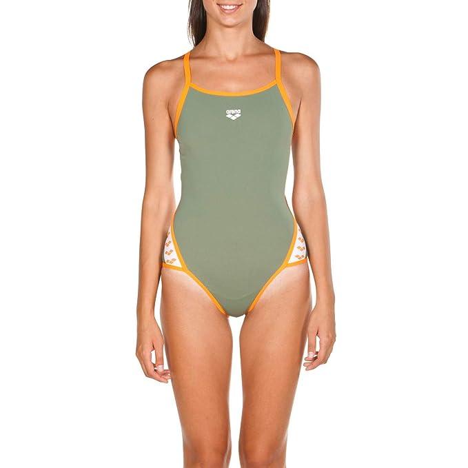 15b64173bb14 Arena W Team Stripe Super Fly Back Costume Sportivo: Amazon.it:  Abbigliamento