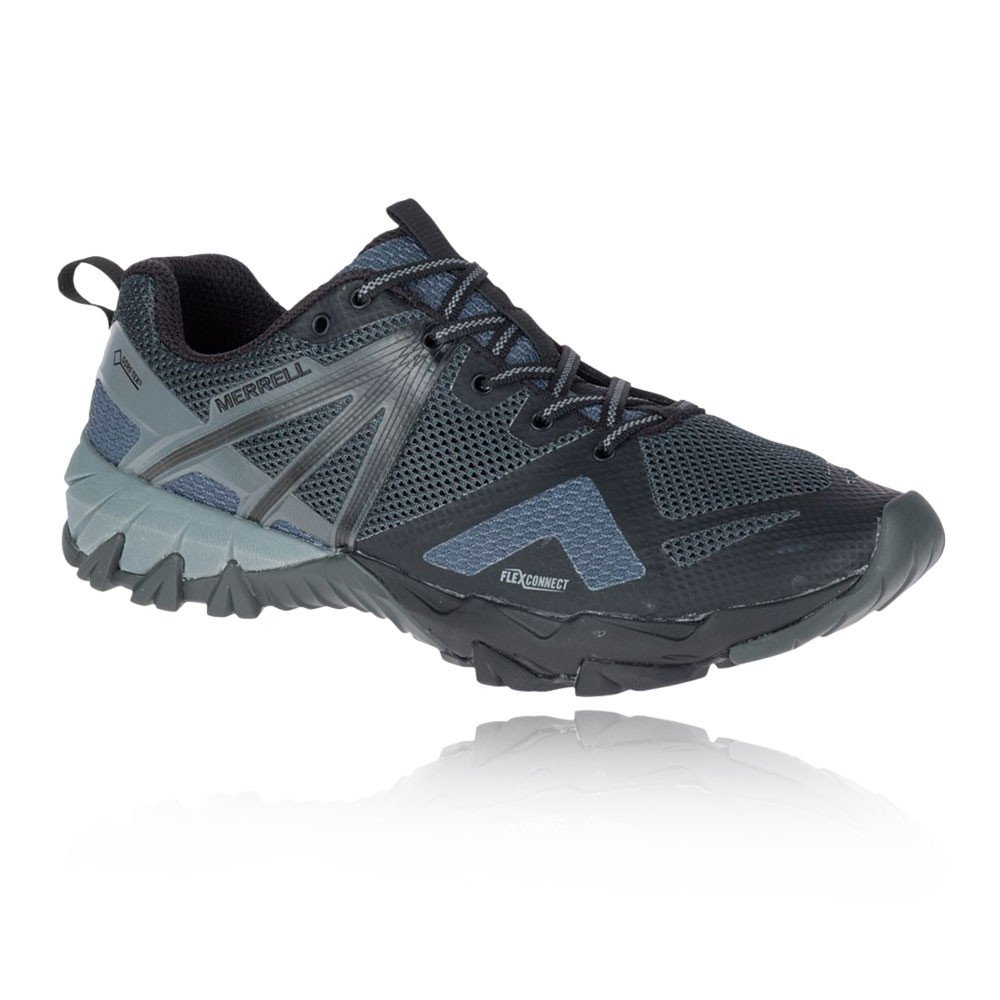Merrell Mens MQM Flex Gore-Tex Waterproof Hybrid Walking Shoes 44.5 EU|Gris